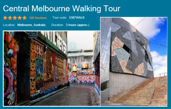 central melbourne walking tour image