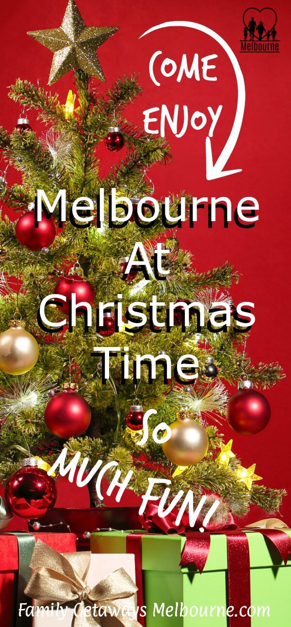 Image to pin to Pinterest for the site page on Christmas Melbourne