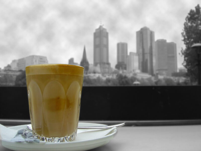 coffee at southgate, australia