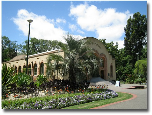 Melbourne Conservatory Fitzroy gardens Melbourne Australia compliments of http://www.flickr.com/photos/wlcutler/3069349092/