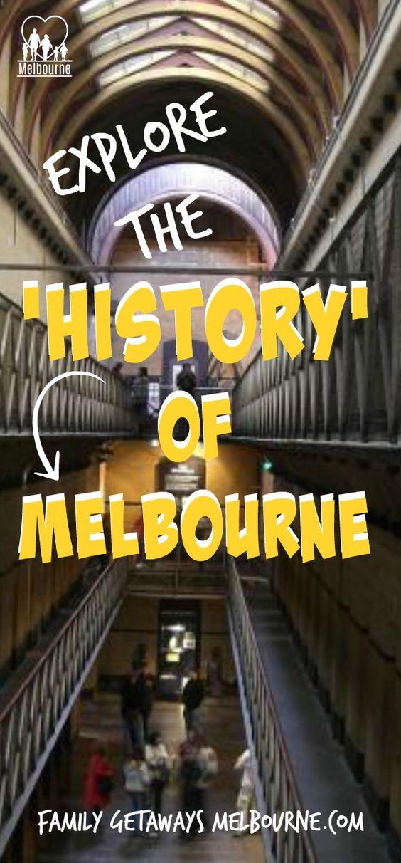 Melbourne History Pinterest pin