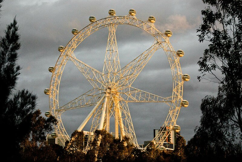 Melbourne Star compliments of Valberg Lárusson from Melbourne, Australia (The eve before opening) [CC BY 2.0 (http://creativecommons.org/licenses/by/2.0)], via Wikimedia Commons