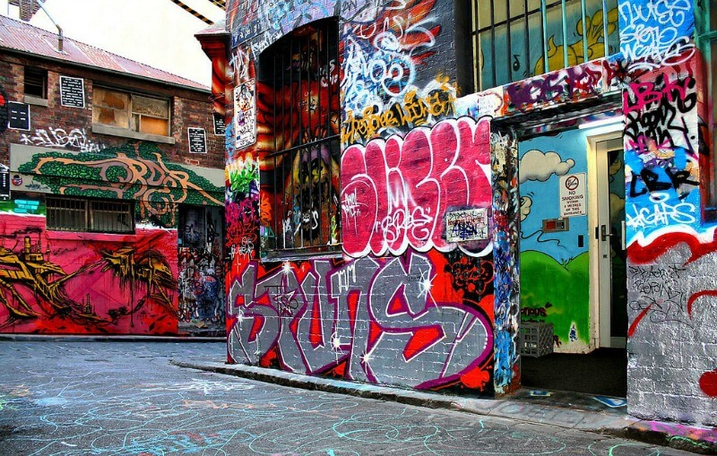 Street art in Melbourne, Australia compliments of https://flic.kr/p/bJDp6n