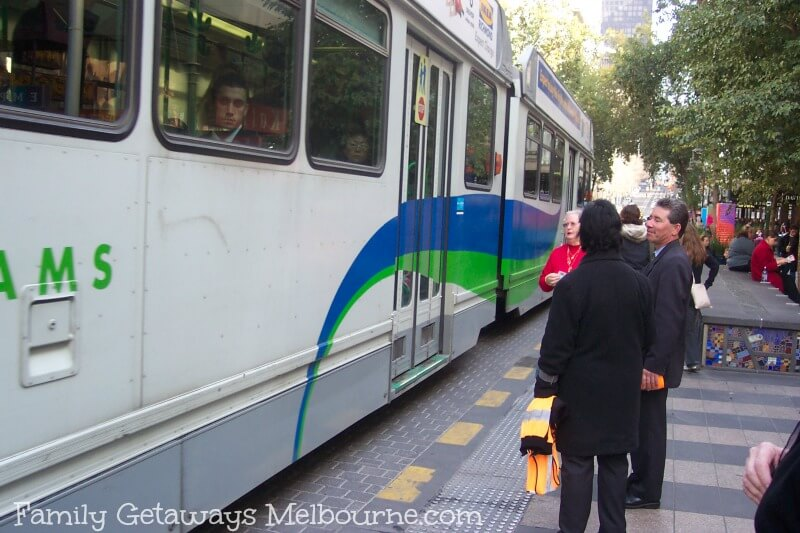 Melbourne tram travel