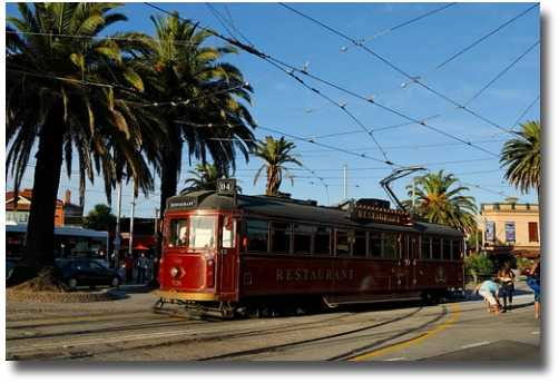 The Melbourne Tramcar restaurant Melbourne Australia compliments of http://www.flickr.com/photos/aang14/2320281467/