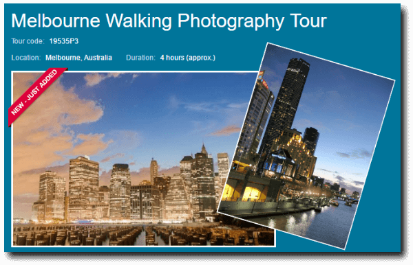 melbourne walking photography tour link