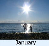 thumbnail image to the site weather page in January