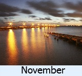 thumbnail image to the site weather page in November