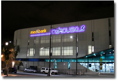 Medibank Icehouse Melbourne Docklands compliments of http://www.flickr.com/photos/mirka23/5905240776/