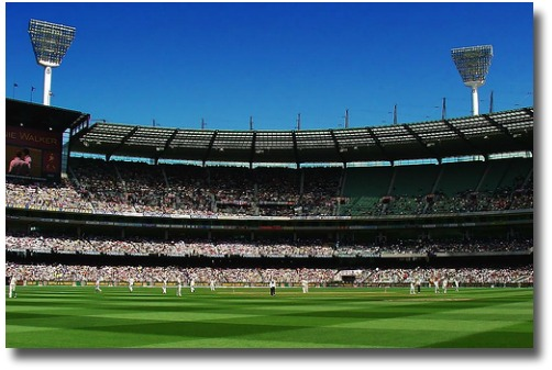 Traditional Cricket MCG Boxing Day match compliments of http://www.flickr.com/photos/mugley/335833205/