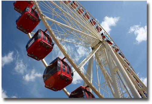 Melbourne Show Ferris Wheel compliments of http://www.flickr.com/photos/kabl1992/4010846684/