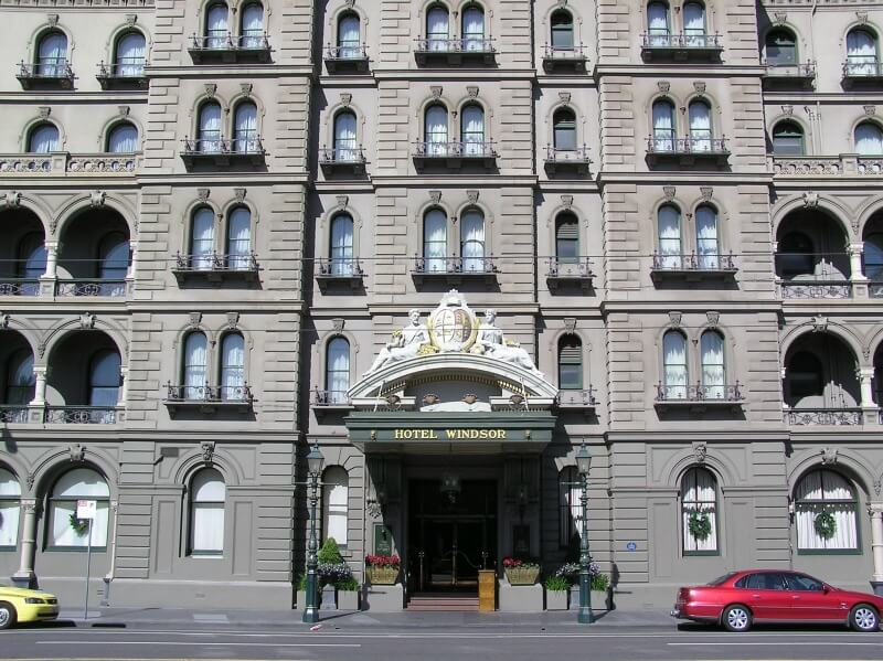 The Melbourne Windsor Hotel