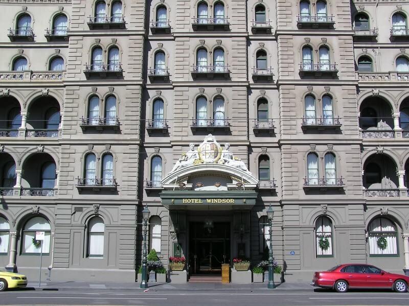 The Melbourne Windsor Hotel