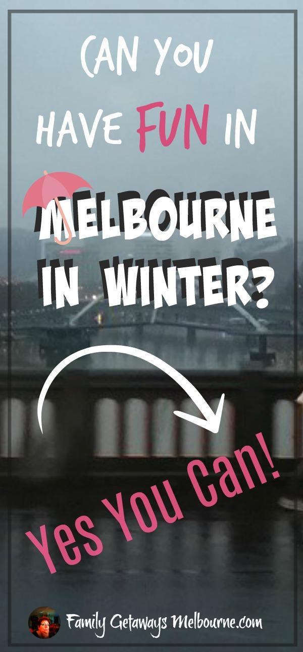 Melbourne winter Pinterest Pin