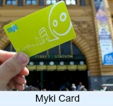 Integrated ticketing system the Myki card