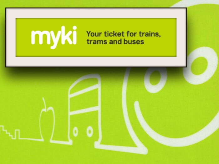 myki public transport ticket