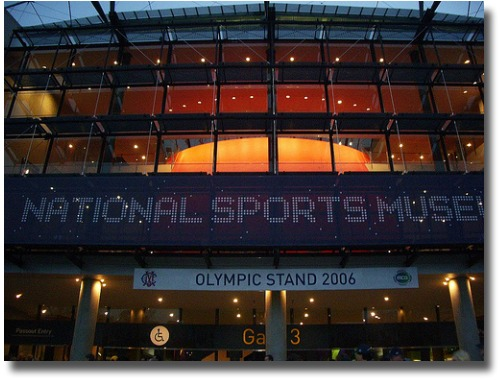 National Sports Museum at the MCG compliments of http://www.flickr.com/photos/patrob/2631443587/