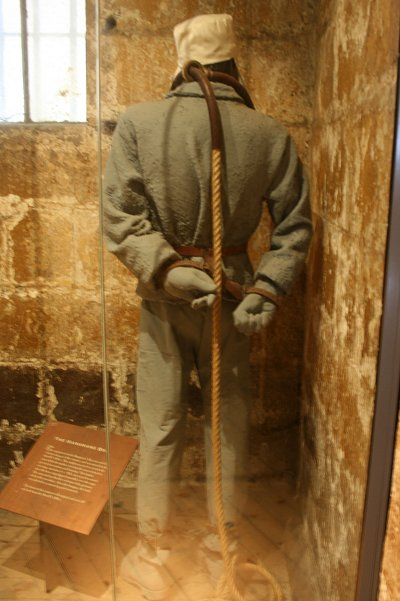 Display of Prisoner Ready For Execution at the Old Melbourne Gaol