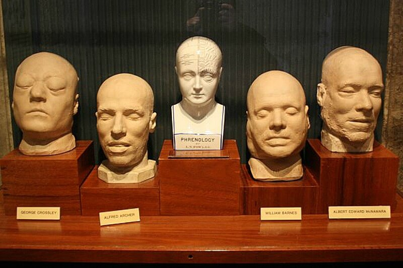 Death Masks at the Old Melbourne Gaol