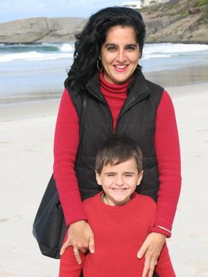 At Llandudno Beach