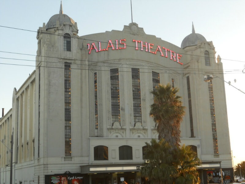 Palais Theatre in St Kilda compliments of https://flic.kr/p/9wat59