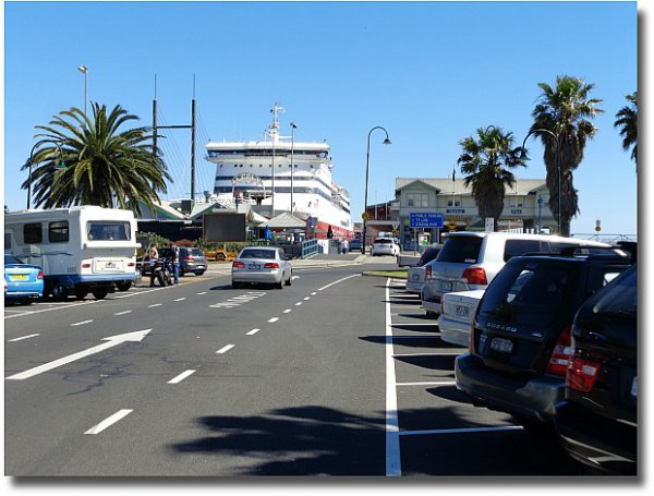 Parking bays at Station Pier Victoria Harbour, Port Melbourne