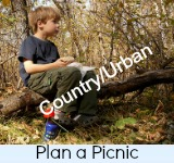 Graphic link to site page on Planning a Picnic