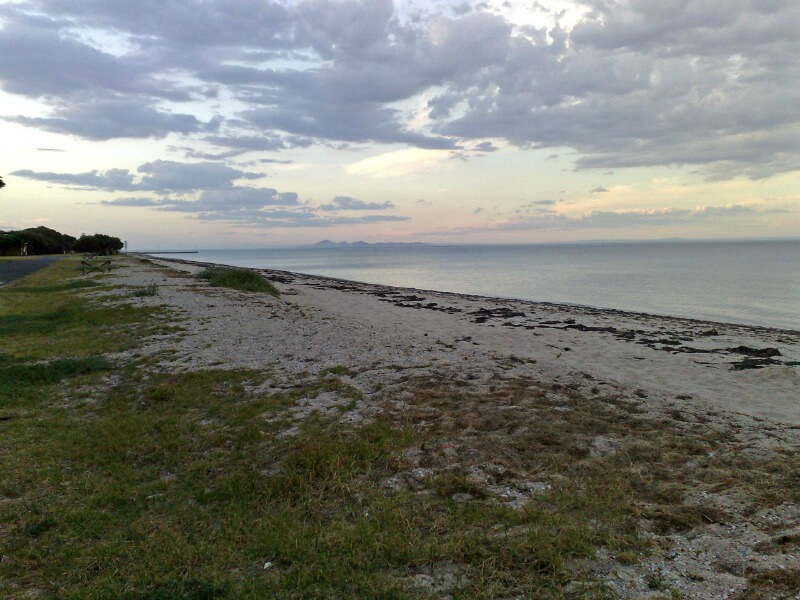 Portarlington Beach Melbourne Australia compliments of http://www.flickr.com/photos/rhayman/3049368153/