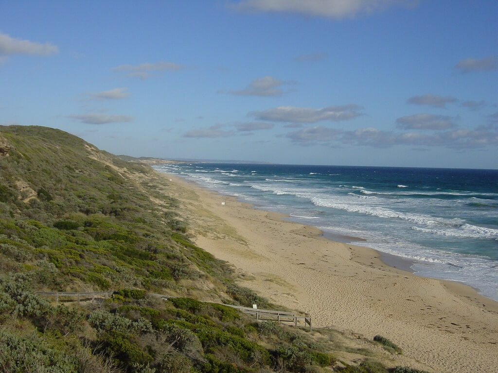 Portsea back beach Victoria, Australia compliments of http://www.flickr.com/photos/76384935@N00/401796789/