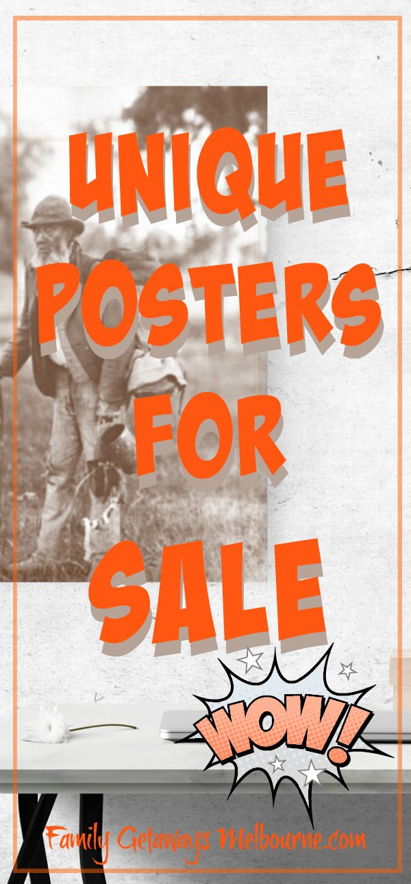 Posters for sale Pinterest pin
