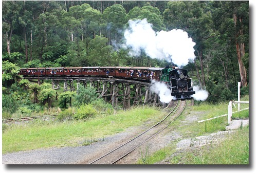Puffing Billy compliments of Steve Curle