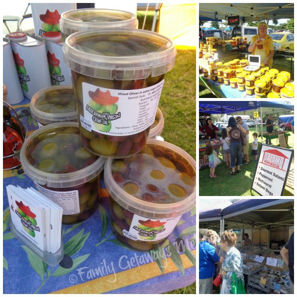 Hmemade, homebaked produce sold at the Quenscliff Community Market in south west country Victoria