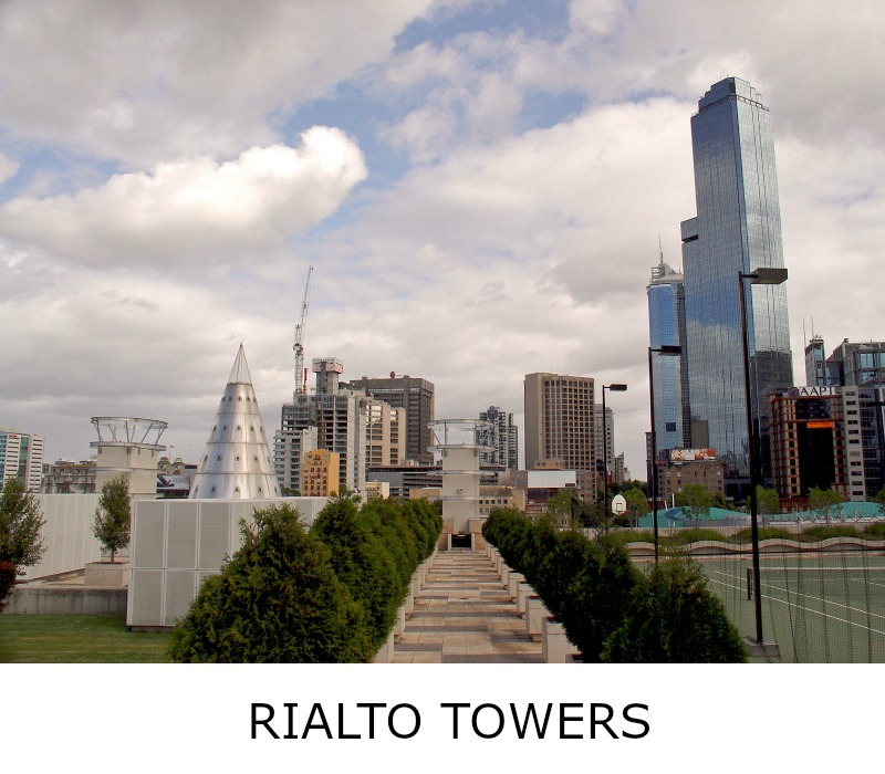 Image link to site page for more information on the Melbourne's Rialto Towers