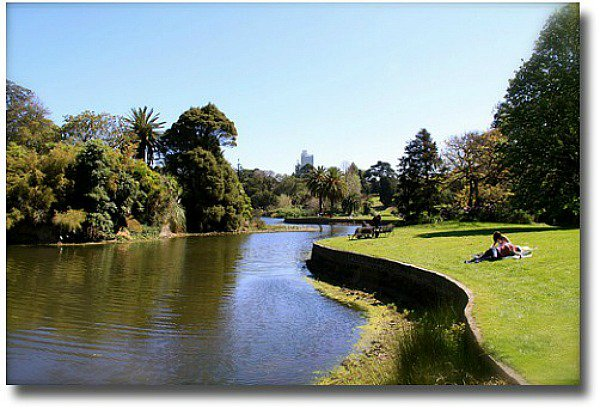 The Royal Botanical Gardens in Melbourne Australia compliments of http://www.flickr.com/photos/charlot17/3996835459/