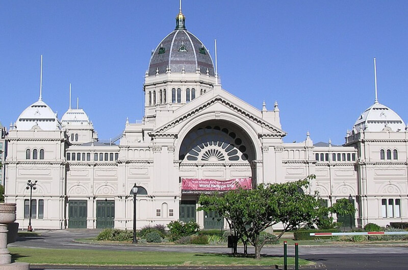 The Royal Exhibition Buildings Melbourne Australia compliments of www.flickr.com/photos/mkuhn/76382036/