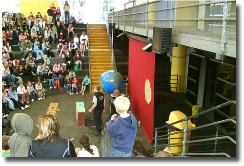 Educational demonstrations at Scienceworks Melbourne Australia compliments of http://www.flickr.com/photos/markomeara/2364757085/