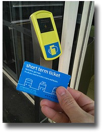 Short term Myki travel ticket compliments of http://www.flickr.com/photos/danielbowen/5932386078/