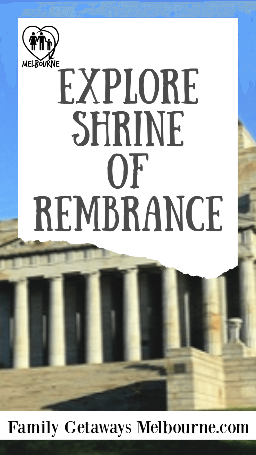 Pinterest Shrine of Remembrance pin