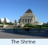 thumbnail image link to site page on the Shrine of Remembrance