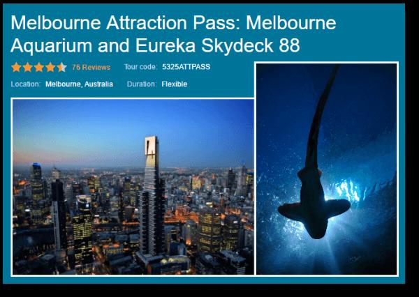 Melbourne Attraction Pass Viator