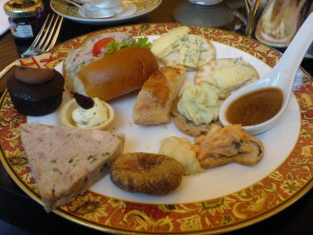 Delicious Savoury Selection For High tea At The Sofitel Melbourne compliments of https://flic.kr/p/2wTxJF
