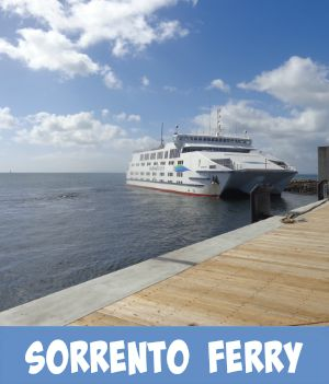 Image link to Site page on the Sorrento to Queenscliff ferry