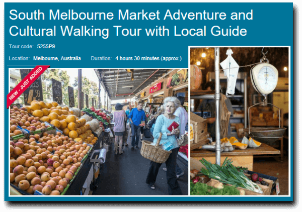 queen vic market walking tour image