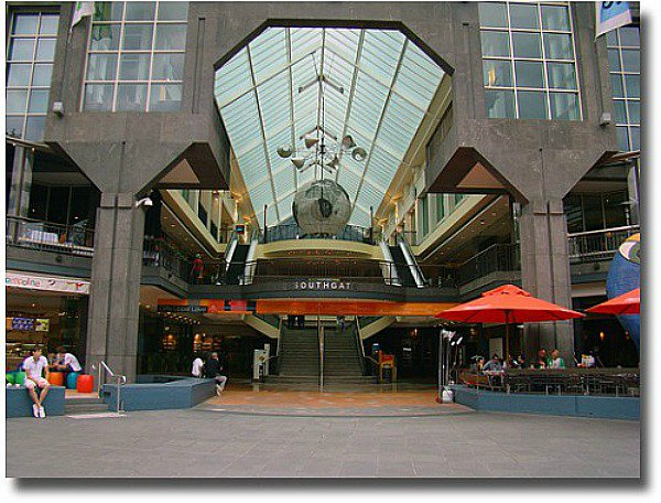 Southgate Plaza shopping center at Southbank-Melbourne compliments of http://www.flickr.com/photos/dmondark/3941530540/