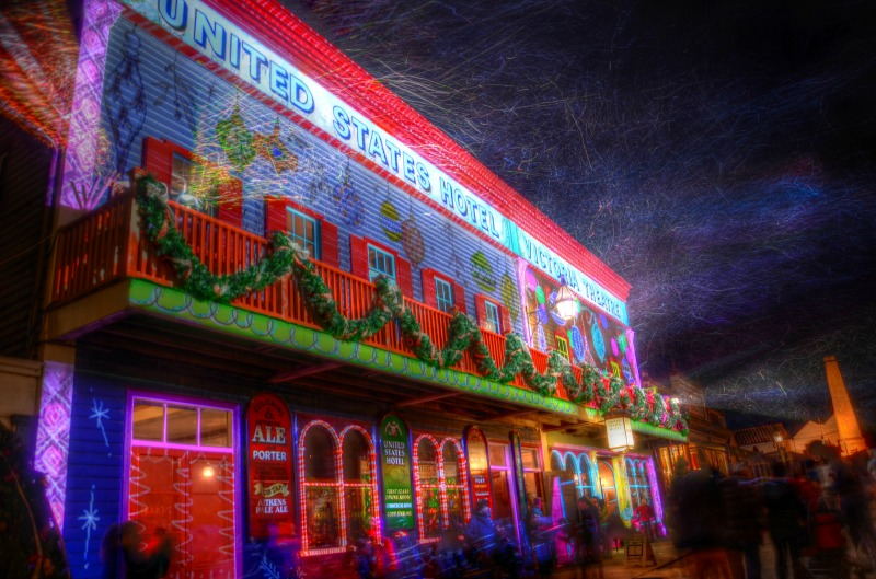 Sovereign Hill Winter Wonderland lights in July compliments of https://flic.kr/p/ofuztj