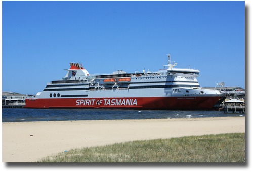 Spirit Of Tasmania Docks At Station Pier