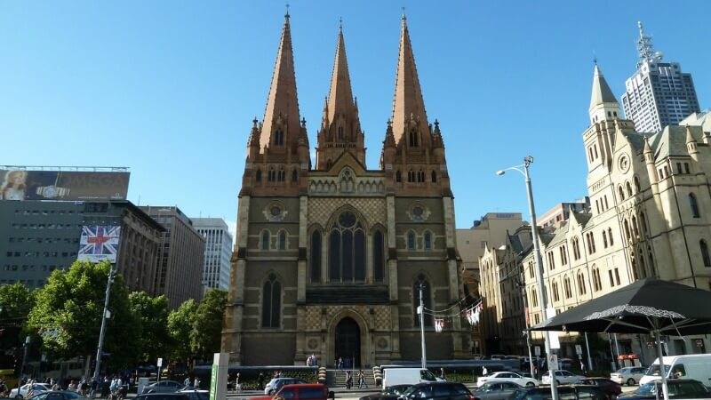 St Pauls Cathedral, Melbourne compliments of https://flic.kr/p/9ee3gH