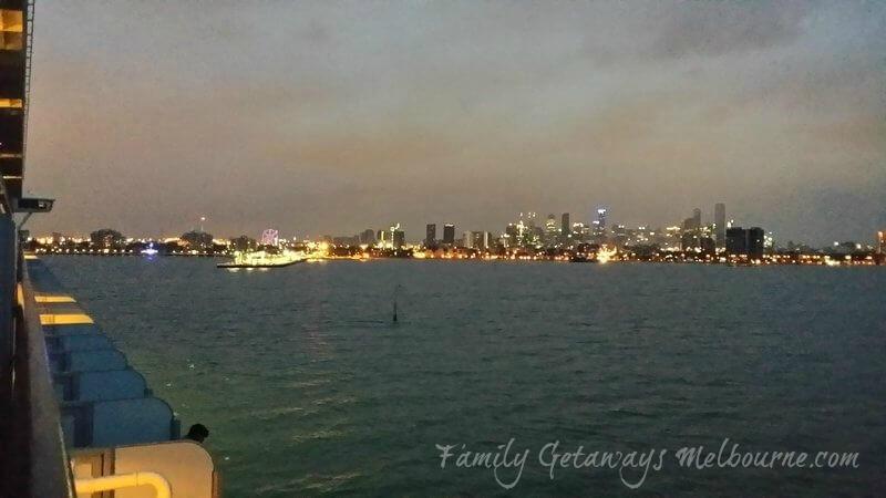 Arriving back at Station Pier Port Melbourne