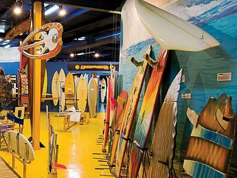 Surf World Museum Torquay in Victoria, Australia