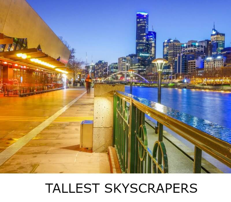 Image link to site page for more information on the Melbourne's tallest skyscrapers